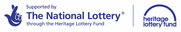 LOGO - Supported by the National Lottery through the Heritage Lottery Fund