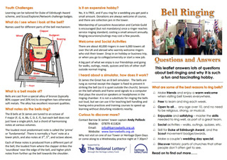 thumbnail of Church Bell-ringing leaflet page1